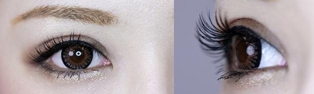 まつげエクステでより美しく上品な瞳に